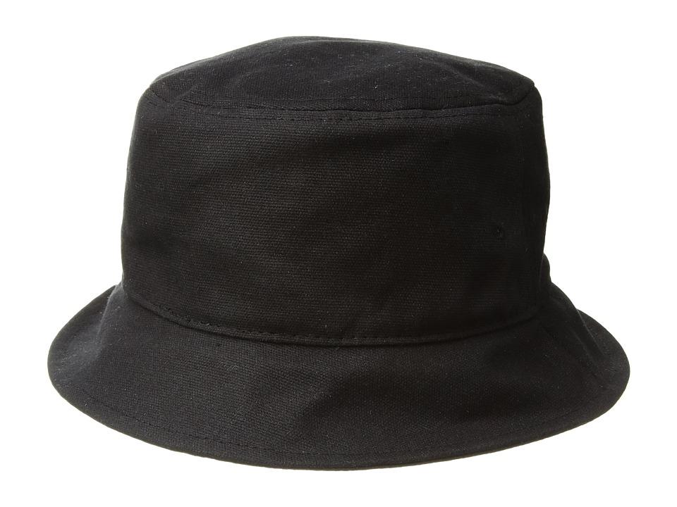 rag & bone - Ellis Bucket Hat (Black) Caps