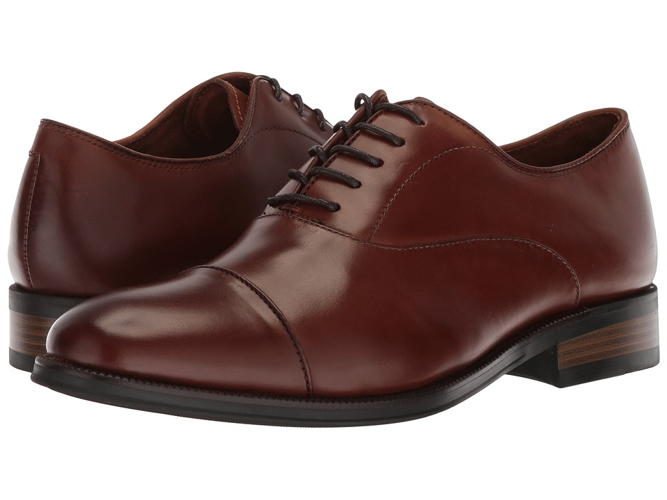 Kenneth Cole New York - Brock Oxford (Cognac) Mens Lace up casual Shoes
