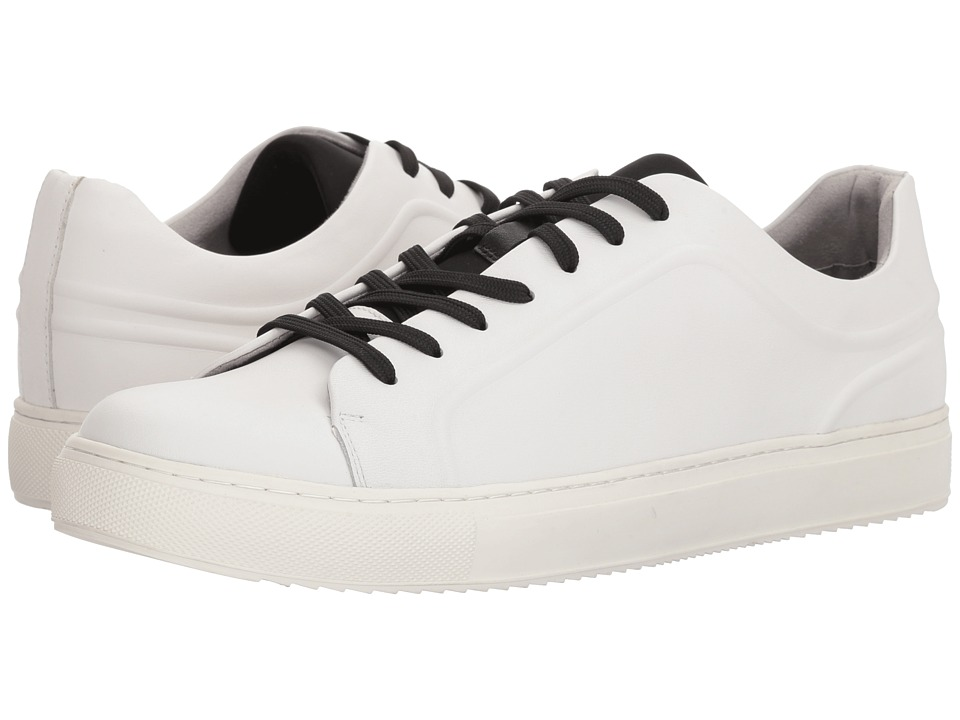 Kenneth Cole New York - Elite Sneaker B (White) Mens Lace up casual Shoes