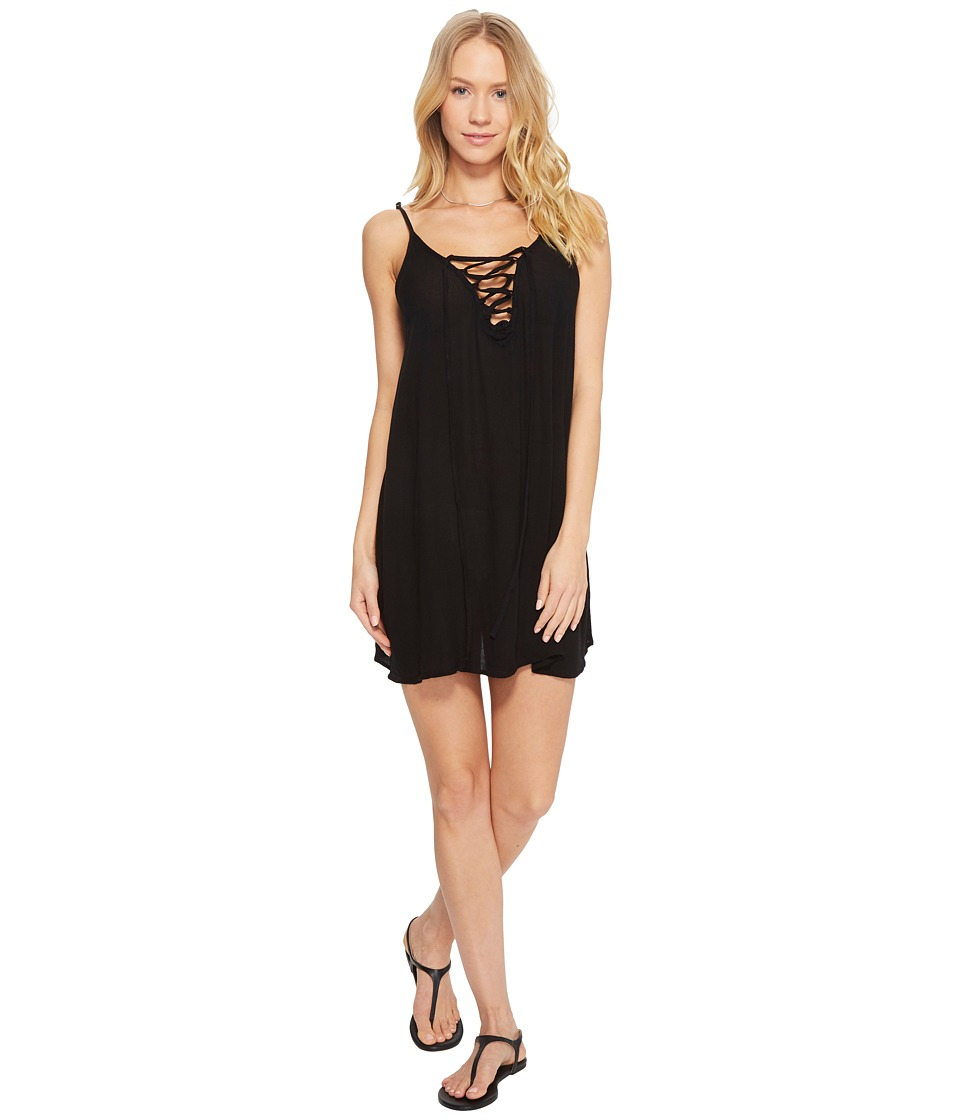 Roxy Softly Love Solid Dress Cover-Up (Anthracite) Women