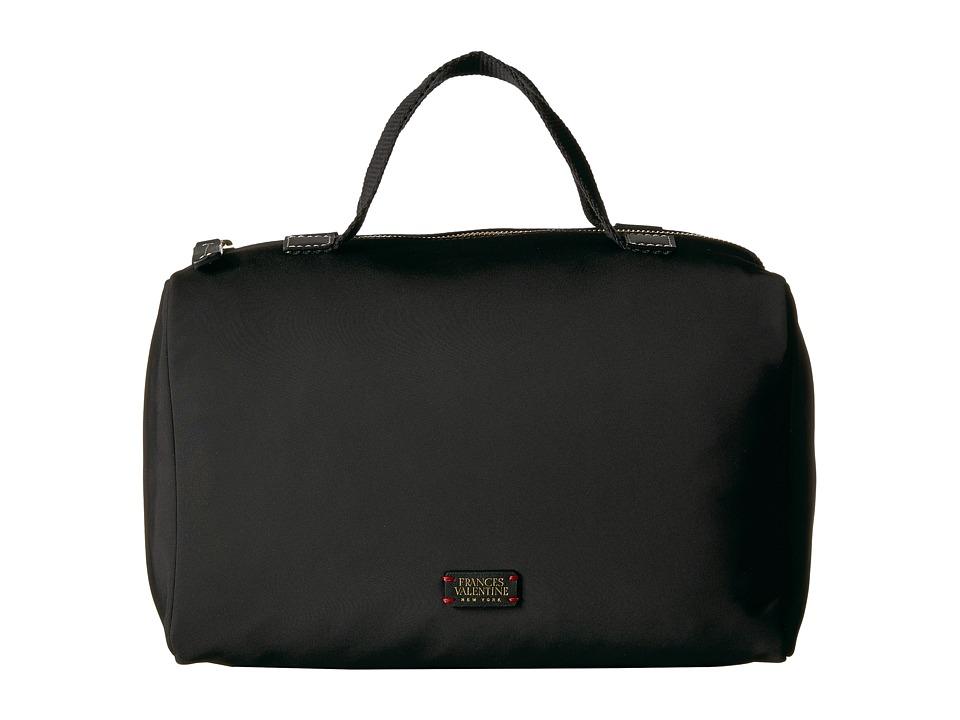 Frances Valentine - Travel Nylon Cosmetic Bag (Black) Cos...