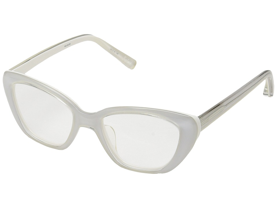 Elizabeth and James - Selma (Crystal/White) Fashion Sunglasses