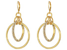 Vince Camuto Vince Camuto Statement Interlocking Ring Earrings