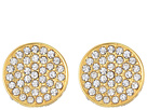 Vince Camuto Vince Camuto Clip Pave Circle Earrings