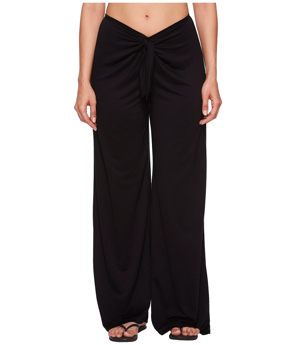 Kenneth Cole Frenchie Solids Tie Front Pant Cover-Up RS8VP76-001