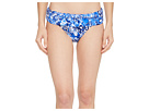LAUREN Ralph Lauren LAUREN Ralph Lauren Playa Floral Classic Shirred Banded Hipster Bottom