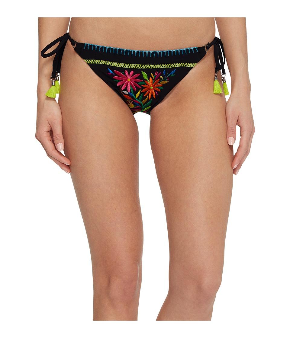 Nanette Lepore Isla Marietas Vamp Tie Side Hipster Bikini Bottom NL8CF98-001