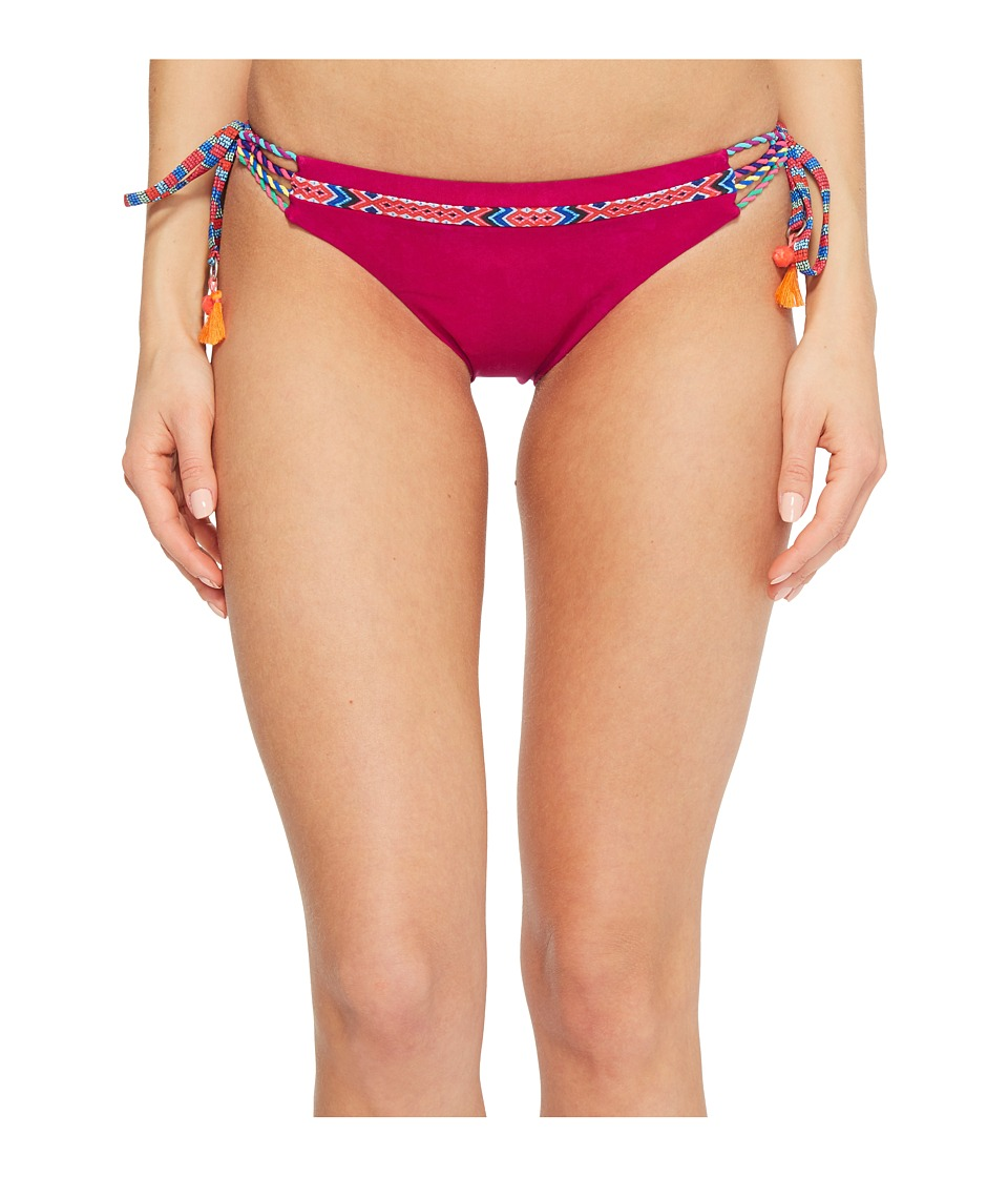 Nanette Lepore Cha Cha Cha Vamp Tie Side Hipster Bikini Bottom NL8CN98-661