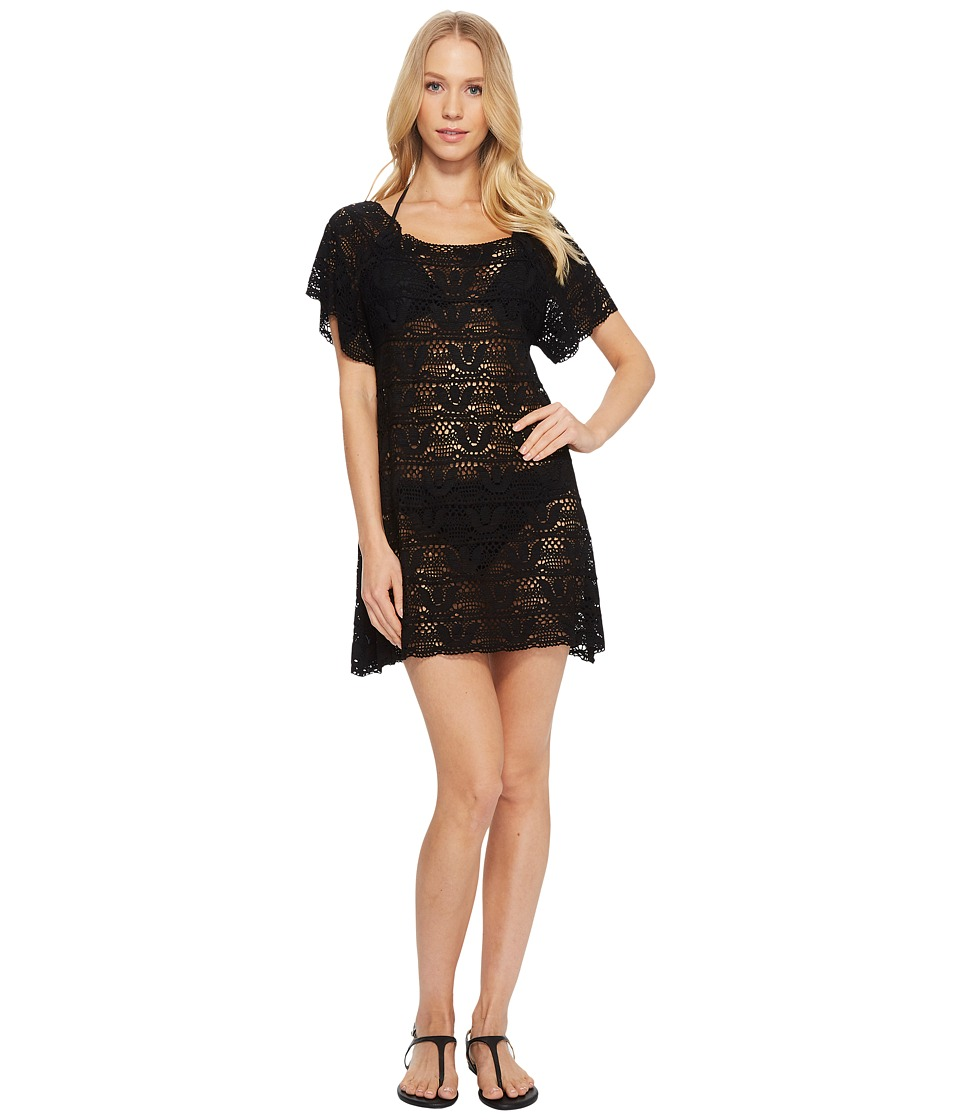 Nanette Lepore Crochet Short Dress Cover-Up NL8CS40-001