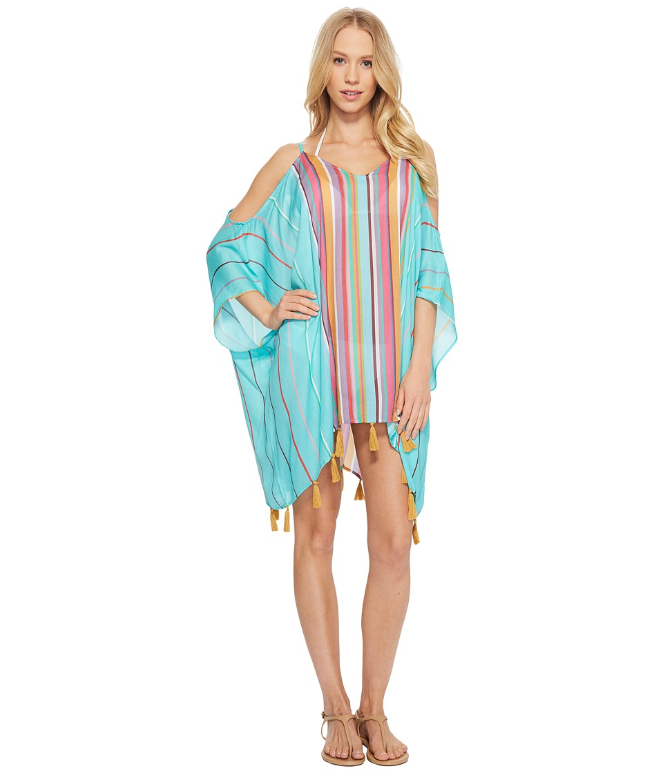 Nanette Lepore Sayulita Cold Shoulder Caftan Cover-Up NL8CG50-440