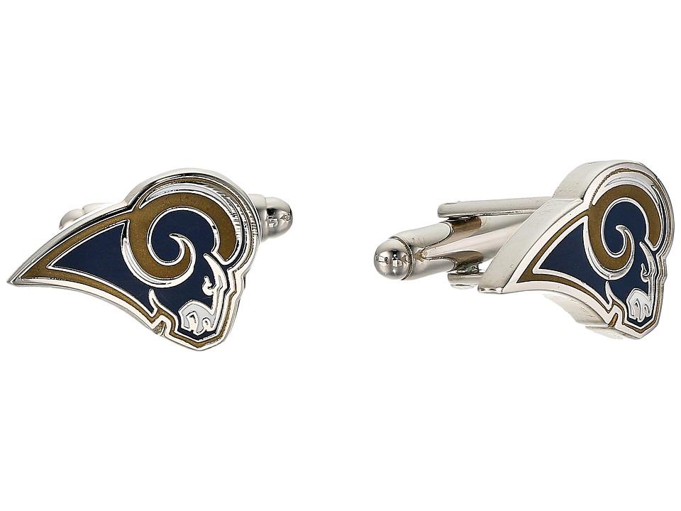 Cufflinks Inc. - Los Angeles Rams Cufflinks (Blue) Cuff L...
