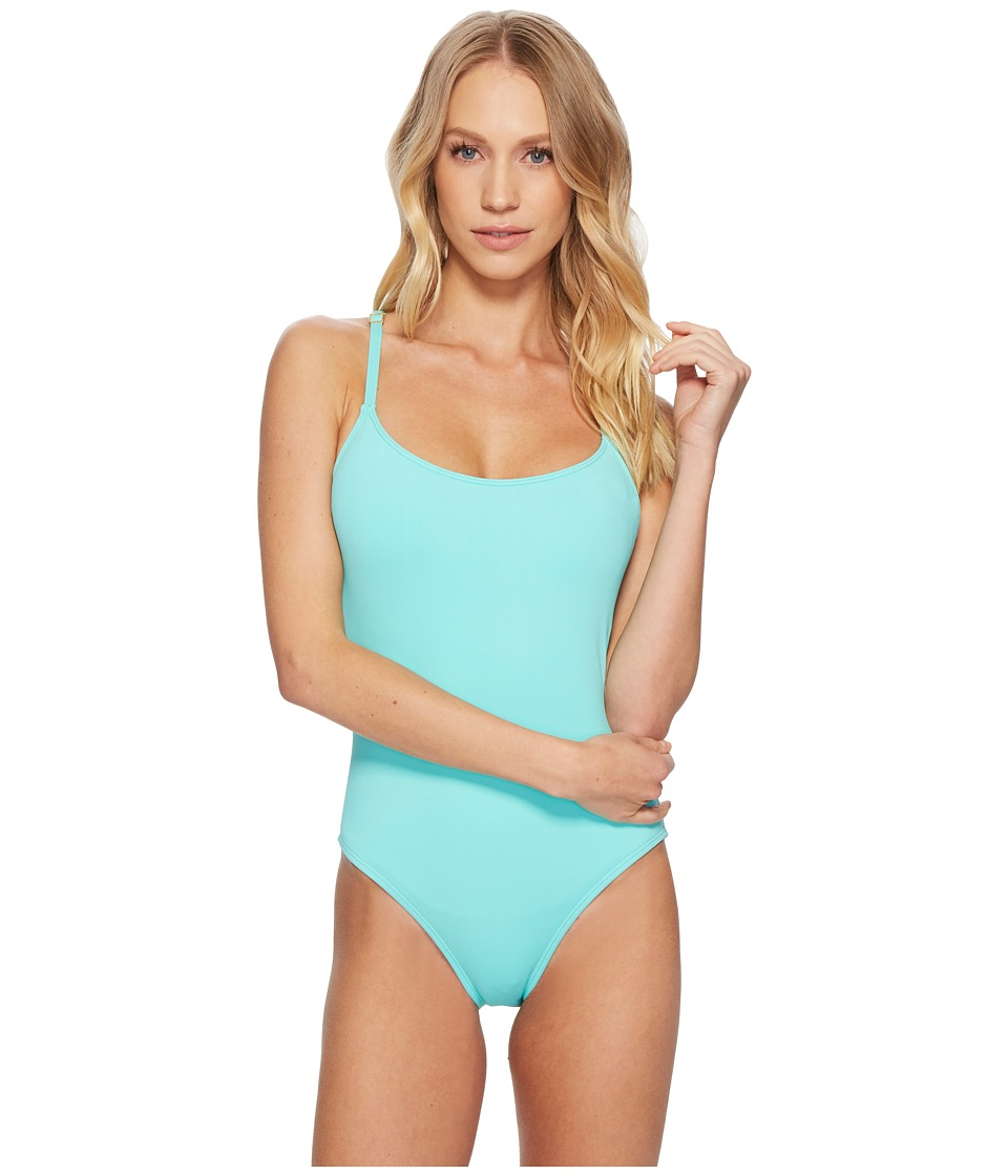 La Blanca - Island Goddess Lingerie Strappy Back Mio One-Piece (Seafoam) Womens Swimsuits One Piece