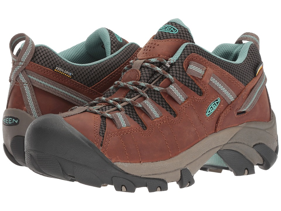 Keen Targhee II WP (Dark Earth/Wasabi) Women's Shoes