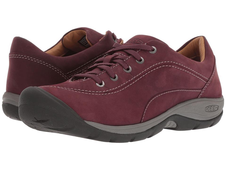 Keen Presidio II (Winetasting/Peppercorn) Women's Shoes