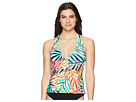 Kenneth Cole Exotic Palm Plunge Tankini
