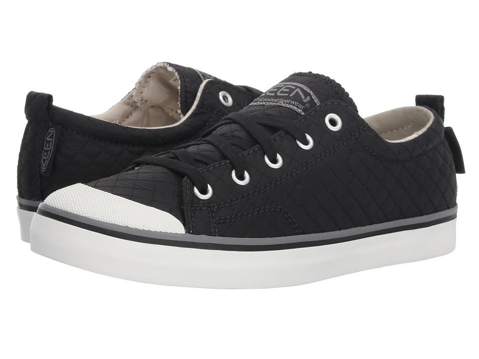 Keen Elsa II Sneaker Quilted (Black/Steel Grey) Women's Shoes