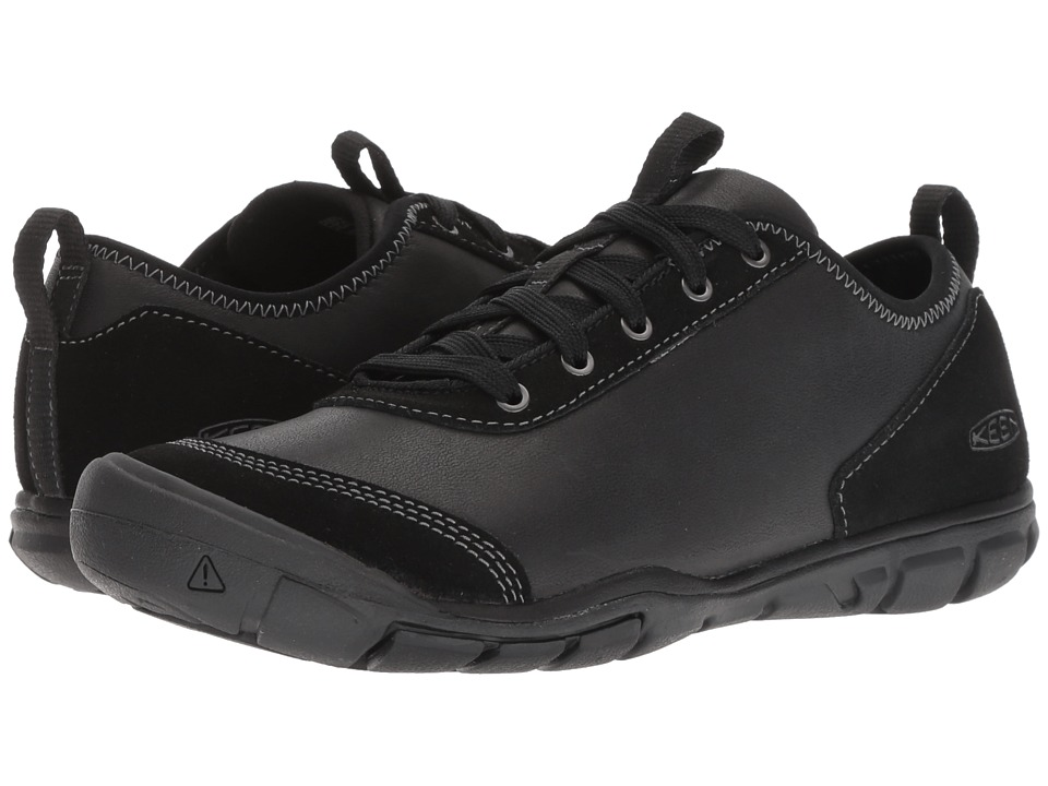 Keen Hush Leather (Black) Women's Shoes
