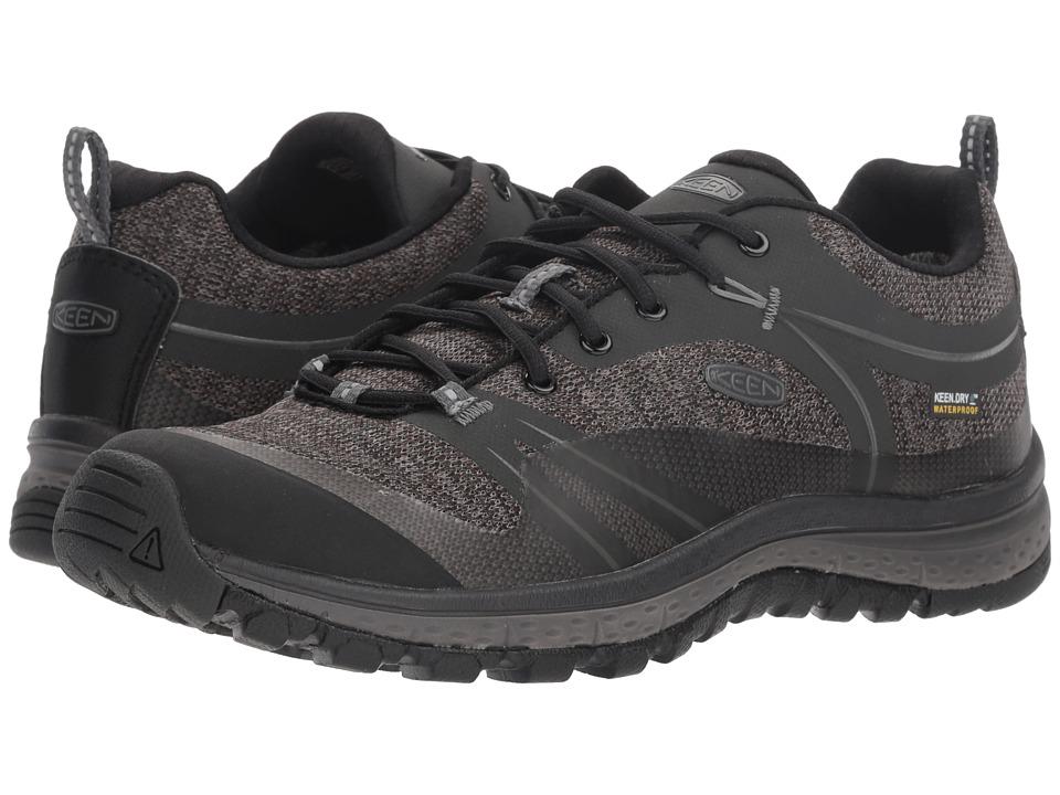 Keen Terradora WP (Raven/Gargoyle) Women's Shoes