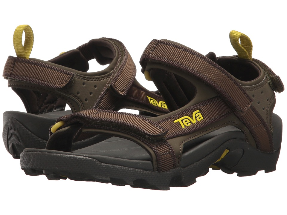 Teva Kids - Tanza (Little Kid/Big Kid) (Black Olive 1) Boys Shoes