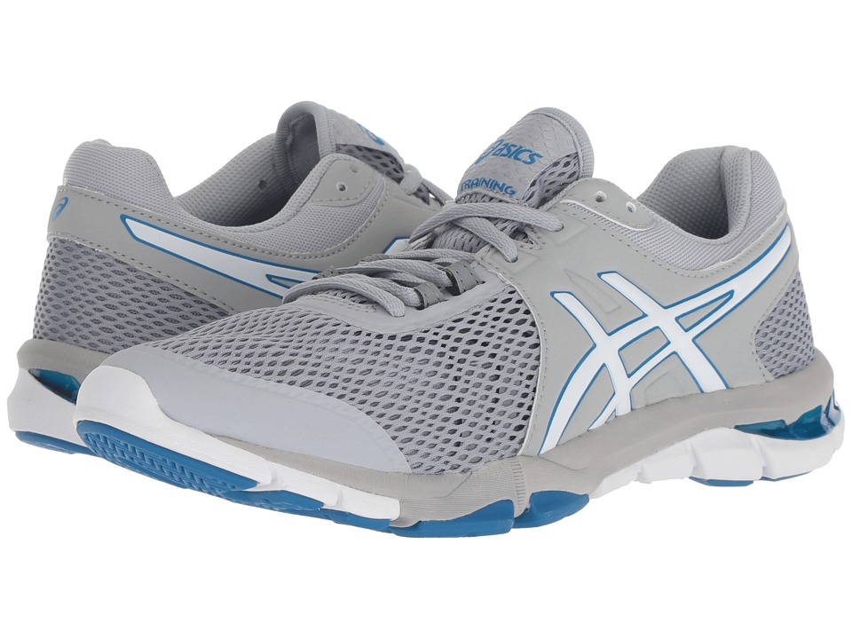 ASICS Gel-Craze TR 4 (Mid Grey/White) Women's Cross Training Shoes