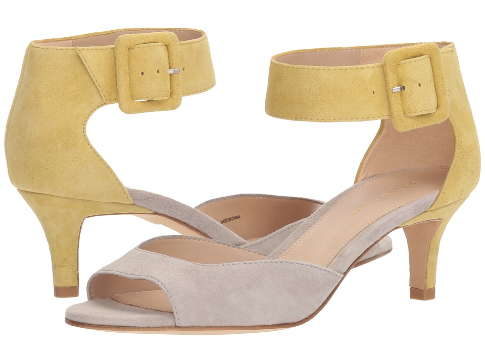 Pelle Moda - Berlin (Cloud/Chartreuse) High Heels
