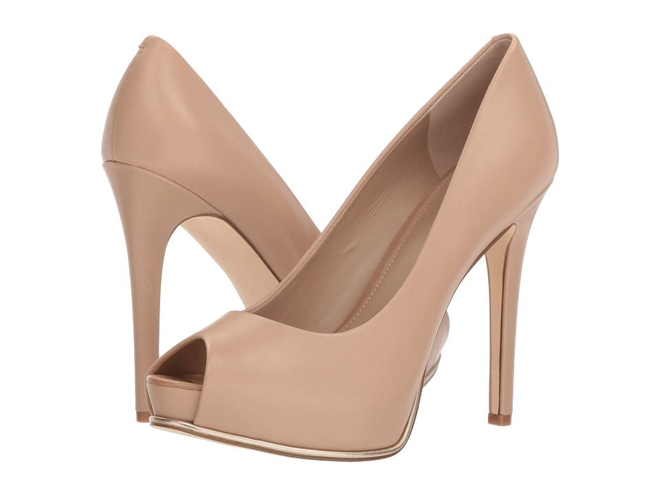 GUESS - Honora (Light Natural Leather) High Heels