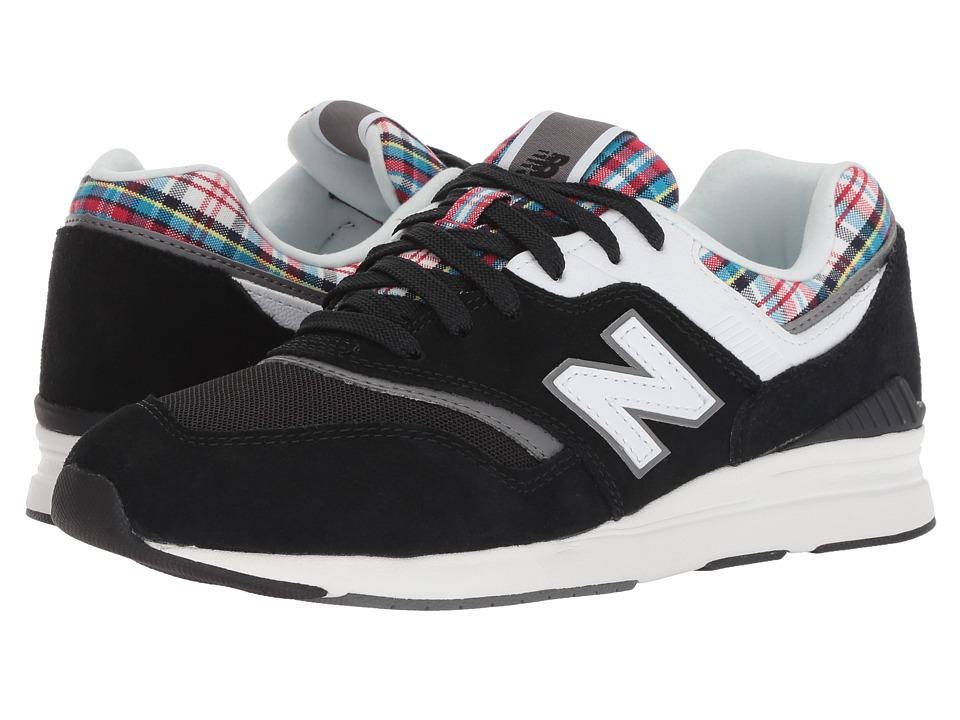 New Balance Classics WL697v1 (Black/Castlerock) Women's Shoes