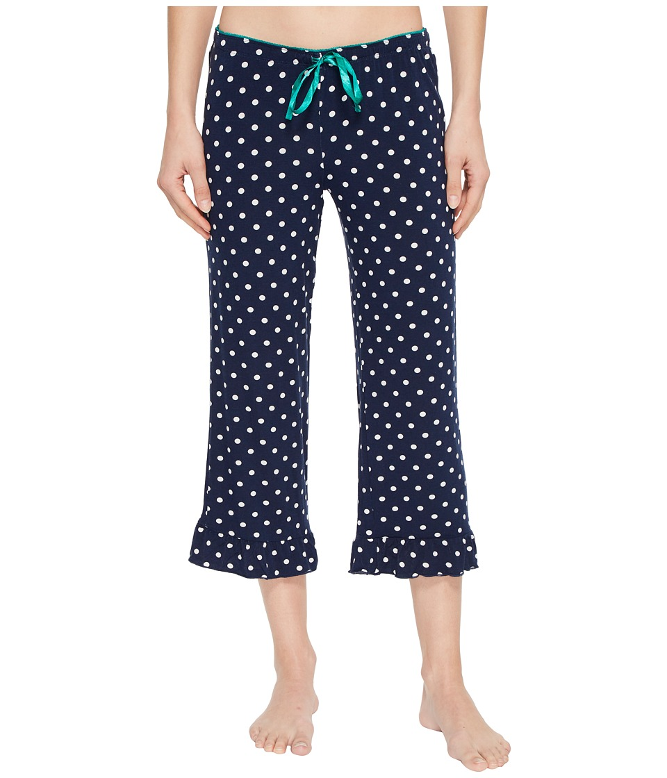 P.J. Salvage - Soul Mates Polka Dot Pants (Navy) Womens Pajama