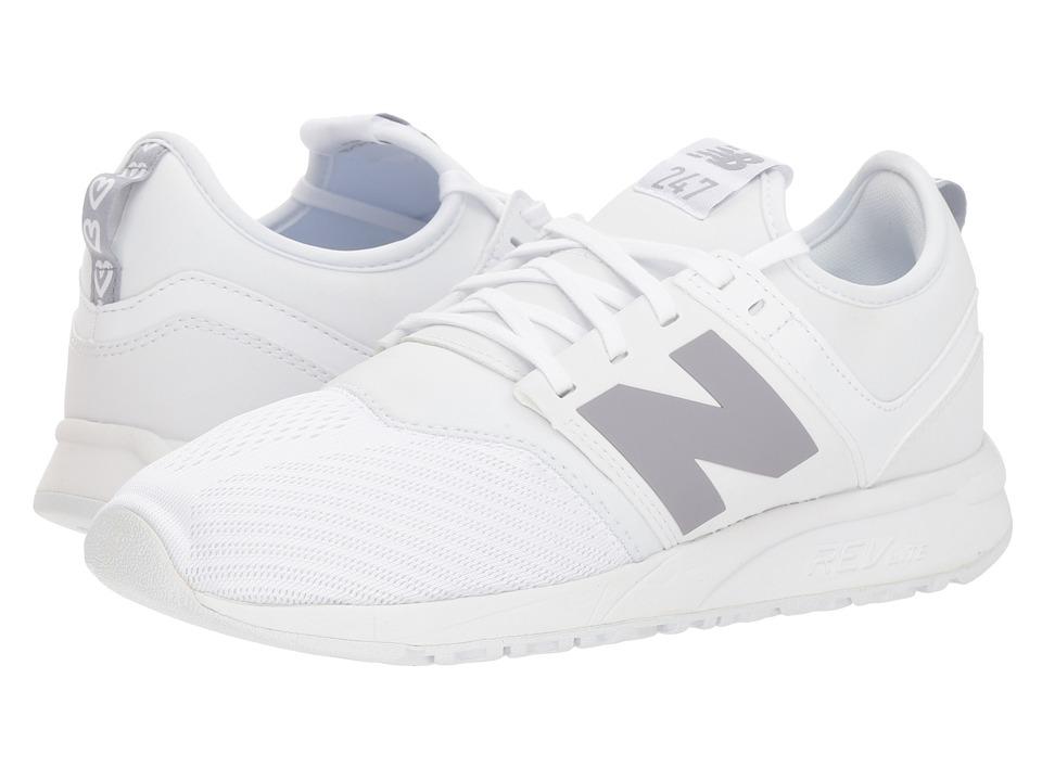 New Balance Classics WS247v2 (White/Arctic Sky) Women's Shoes