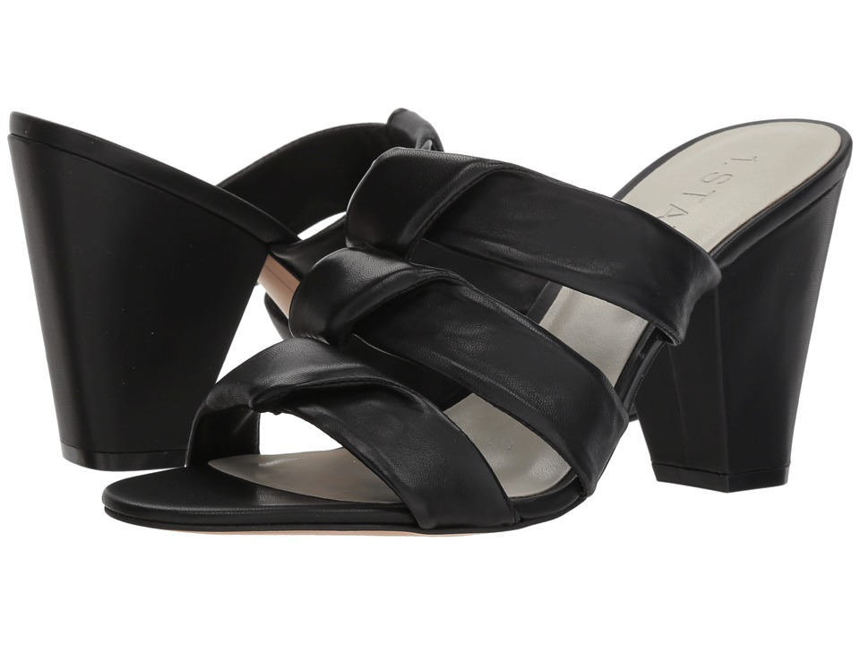 1.STATE - Aisha (Black Nappa) High Heels