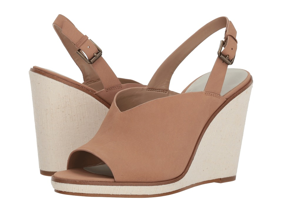 1.STATE - Genna (Teak Sonoma) Womens Wedge Shoes