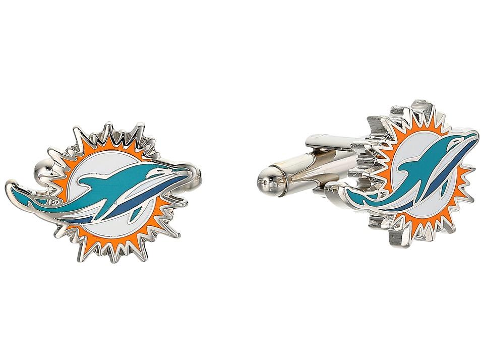 Cufflinks Inc. - Miami Dolphins Cufflinks (Turquoise) Cuf...