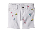 DL1961 Kids Piper Embroidered Cuffed Shorts in Palm Desert (Big Kids)