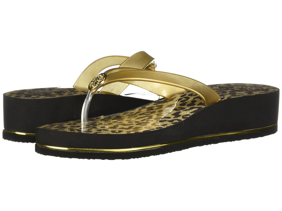 GUESS - Enzy (Gold Synthetic) Womens Sandals