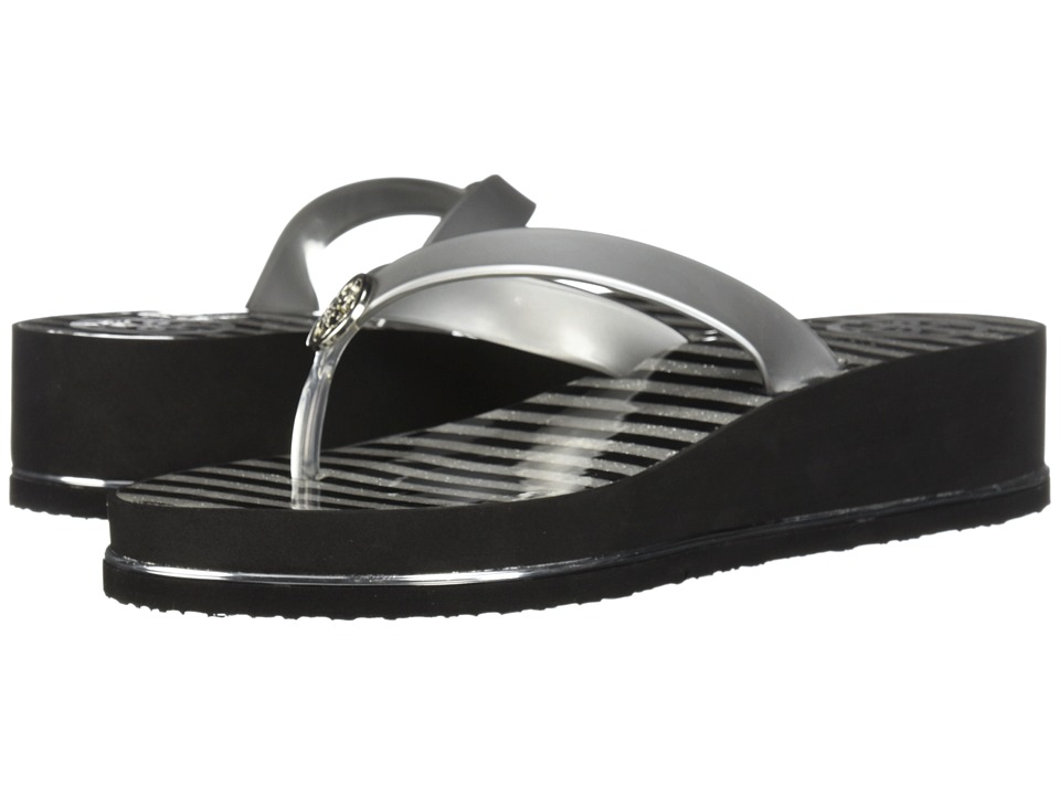 GUESS Enzy (Silver Synthetic) Sandals