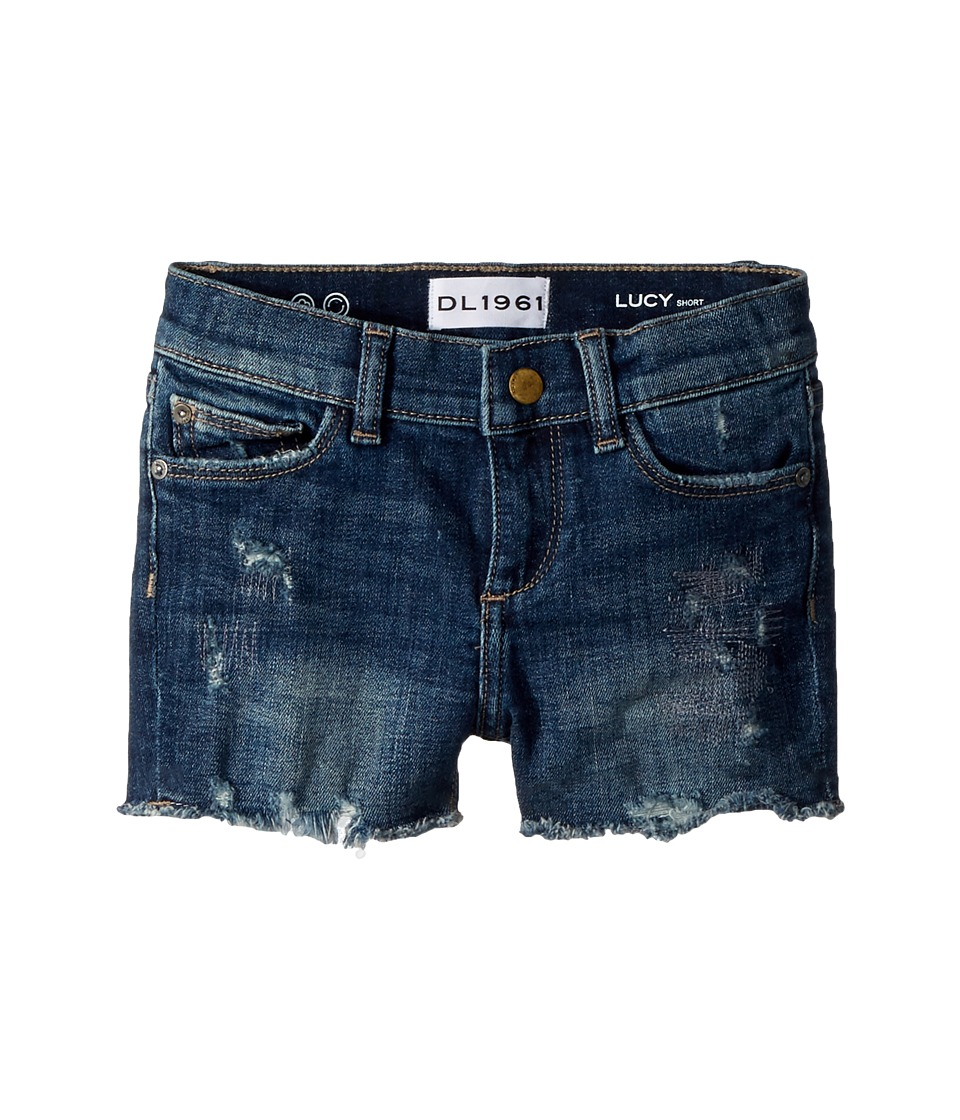 DL1961 Kids - Lucy Cut Off Shorts in Liberty (Big Kids) (...