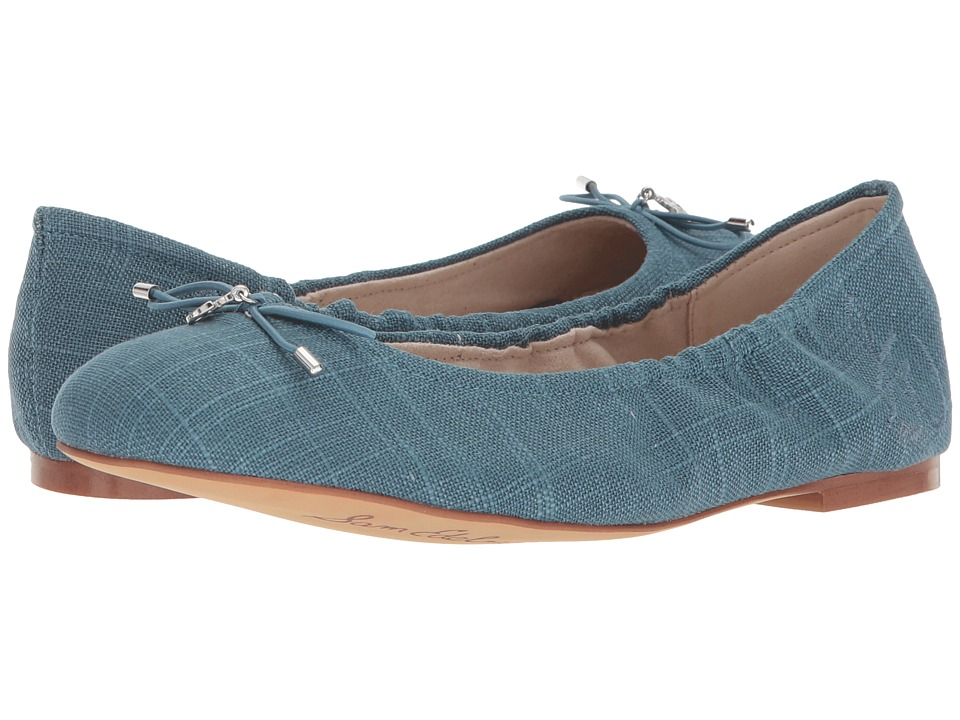 Sam Edelman Felicia (Denim Blue Dress Linen) Flats