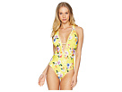Nanette Lepore Monaco Bouquet Goddess One-Piece