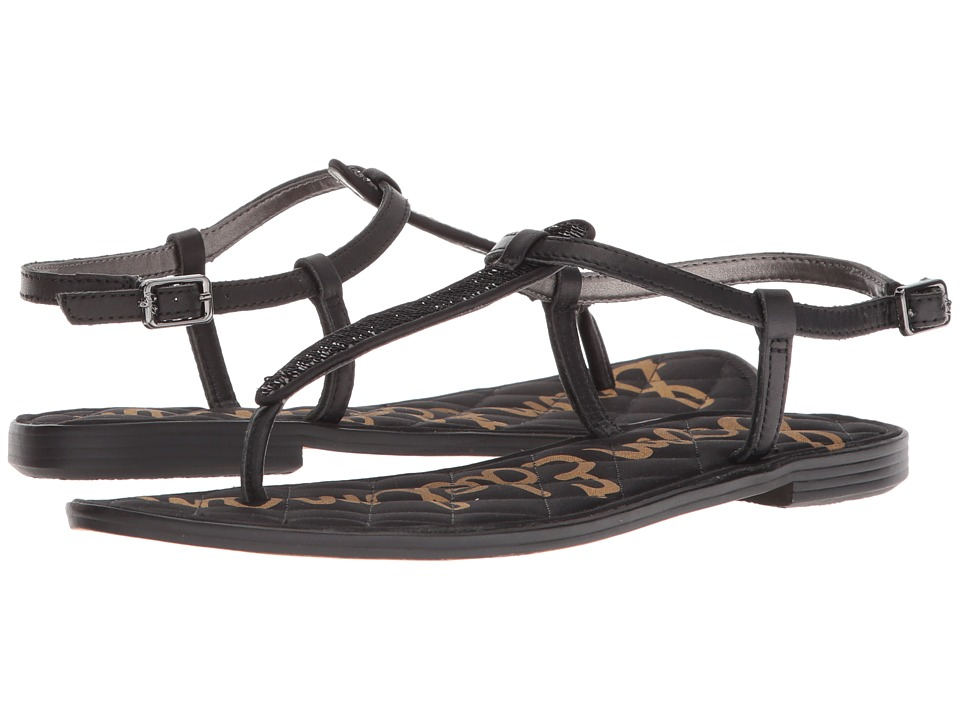 Sam Edelman - Gigi (Black Small Sequins) Womens Sandals