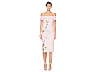 Ted Baker Ted Baker Olyva Pink Harmony Scallop Bodycon