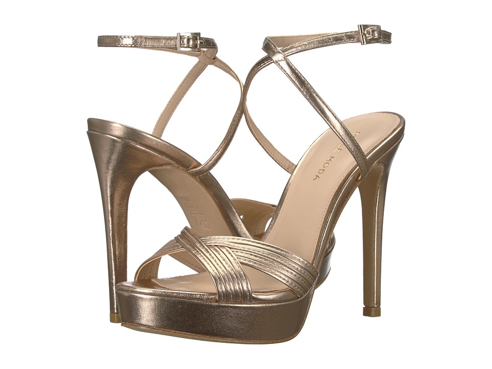Pelle Moda - Olsen (Platinum Gold) Womens Shoes