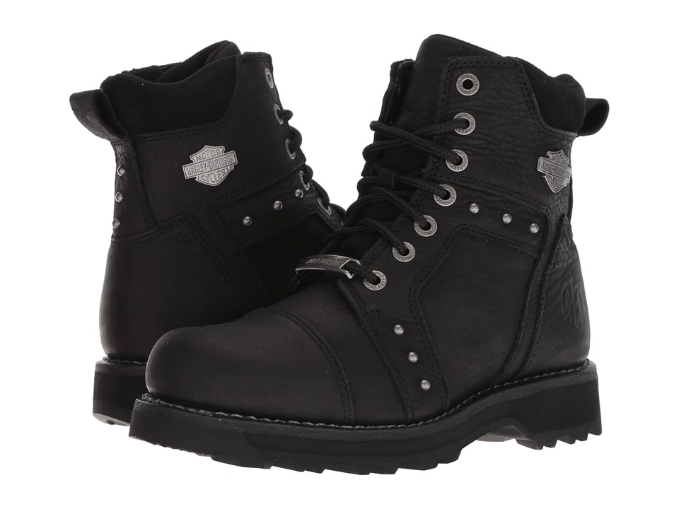 Harley-Davidson Oakleigh (Black) Women's Lace-up Boots