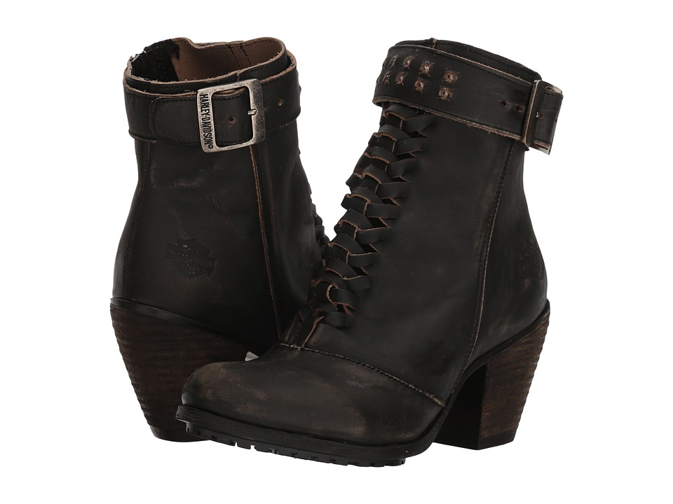 Harley-Davidson - Calkins (Smoke) Womens Lace-up Boots