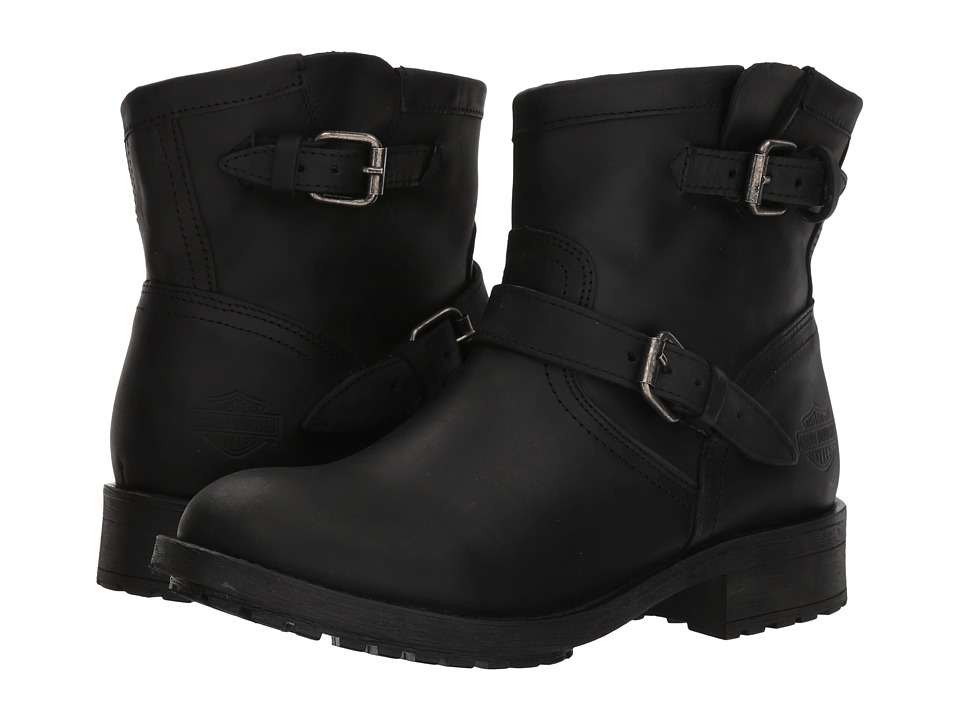 Harley-Davidson - Allerton (Black) Womens Pull-on Boots
