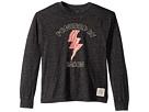 The Original Retro Brand Kids Powered by Bacon Long Sleeve Mocktwist T-Shirt (Big Kids)