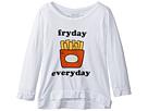 The Original Retro Brand Kids Fryday Everyday 3/4 Tri-Blend Pullover (Big Kids)