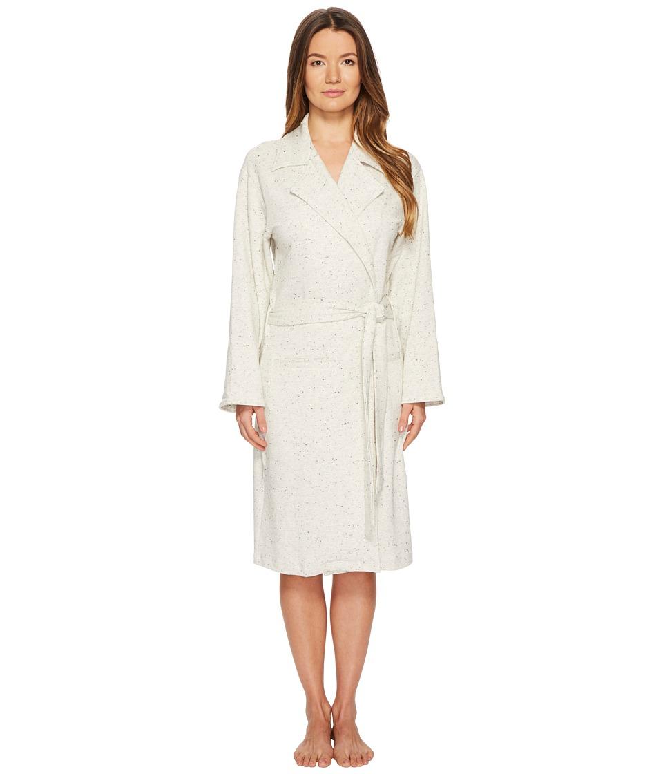 Maison Du Soir - Emma Robe (Ivory Speckle) Womens Robe