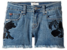Hudson Kids Rose Embellished Shorts in Crown Blue (Big Kids)