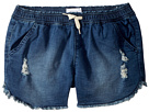 Hudson Kids 2 1/2 Pull-On Shorts - French Terry in Depth Charge (Big Kids)