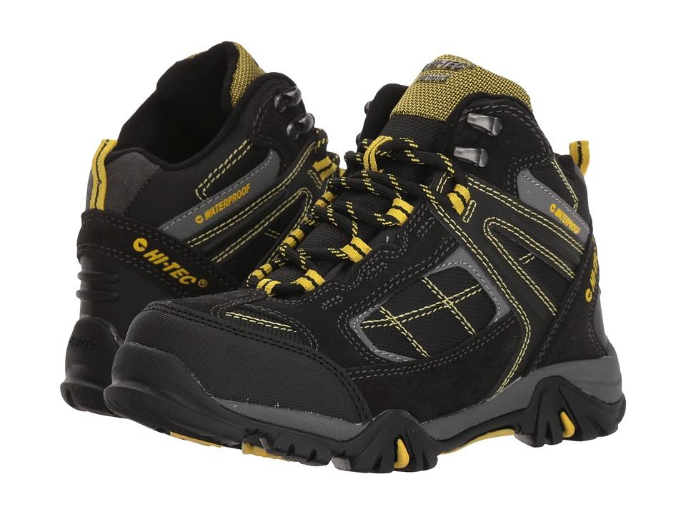 Hi-Tec Kids - Altitude Lite II WP I (Toddler/Little Kid/Big Kid) (Charcoal/Black/Sunray) Kids Shoes
